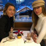 Alina Baikova with sister Iana Baikova image