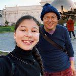 Alysa Liu with her father Arthur Liu