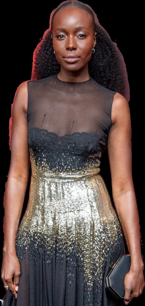 Anna Diop transparent background png image