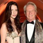 Anya Taylor-Joy with her father Dennis Taylor
