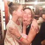 Anya Taylor-Joy with her mother Jennifer Marina Joy
