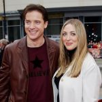 Brendan Fraser with ex-wife Afton Smith image