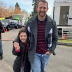 Brooklynn Prince with her father Justin L Prince