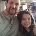 Brooklynn Prince with her father Justin L Prince image