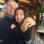 Brooklynn Prince with her grandfather
