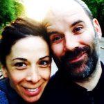 Cavan Clerkin with his wife Ana Monzon