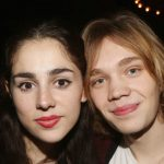 Charlie Plummer with his girlfriend Samia Finnerty