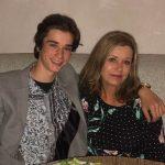 Daniel DiMaggio with his mother Loretta Fox image