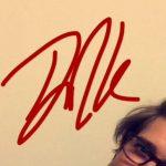 Drew Van Acker signature