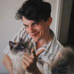 Edward Bluemel pet cat