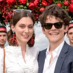 Edward Bluemel with his ex-girlfriend Sophie Meadows
