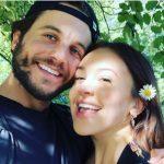 Eliza Butterworth with her boyfriend