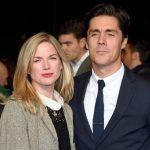 Eva Birthistle with her husband Ross Barr
