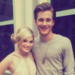 Georgie Henley with her ex-boyfriend Luke Benward