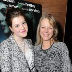 Georgie Henley with her mother Helen Henley Wone
