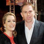 Gillian Anderson with her ex-boyfriend Mark Griffiths