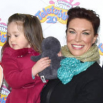 Hannah Waddingham with her daughter Kitty
