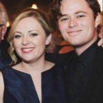 Harrison Gilbertson with his sister Bridget Gilbertson