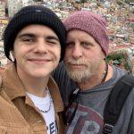 Jack Dylan Grazer with his father Gavin Grazer