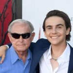 Jack Dylan Grazer with his grandfather Jack Lafever