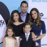Jacob Tremblay with his parents and Siblings