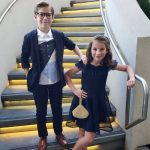 Jacob Tremblay with his sister Erica Tremblay