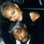 Jada Pinkett Smith with ex-boyfriend Tupac Shakur