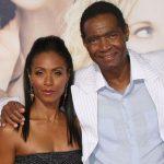Jada Pinkett Smith with her father Robsol Pinkett Jr