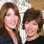 Jennifer Carpenter with her mother Catherine Mitchell