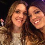 Jennifer Carpenter with her sister