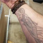 Jeppe Beck Laursen Right hand tattoos