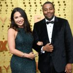 Kenan Thompson with his wife Christina Evangeline image