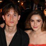Kiernan Shipka with her boyfriend Christian Coppola