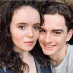 Lara Robinson with her boyfriend Maximillian Johnson