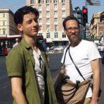 Lino Facioli with his father Cako Facioli