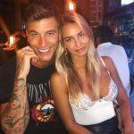 Madi Edwards with boyfriend Josh Carroll image