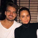 Madi Edwards with her brother Luke Edwards