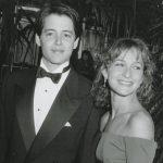 Matthew Broderick with ex-girlfriend Jennifer Grey