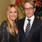 Matthew Broderick with his wife Sarah Jessica Parker