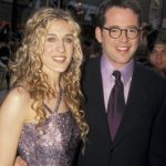 Matthew Broderick with his wife Sarah Jessica Parker old image