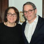Matthew Broderick with sister Janet Broderick Kraft