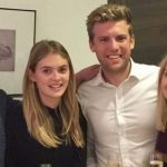 Megan Williams with her brother Tom Williams