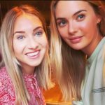 Megan Williams with her sister Rachael