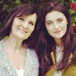Millie Brady with her mother