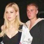 Nicola Peltz with her ex-boyfriend Justin Bieber