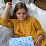 Patton Oswalt's daughter Alice Rigney Oswalt