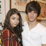 Sarah Hyland with ex-boyfriend Max Ehrich
