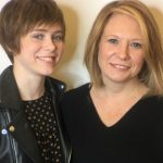 Sophia Lillis with her mother Juliana Mellevold image