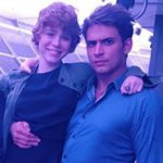 Sophia Lillis with step-brother Philip Mellevold