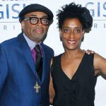 Spike Lee with his sister Joie Lee